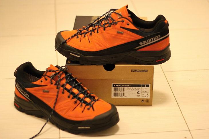 Prodám  boty Salomon X Alp LTR GTX b572dbf435
