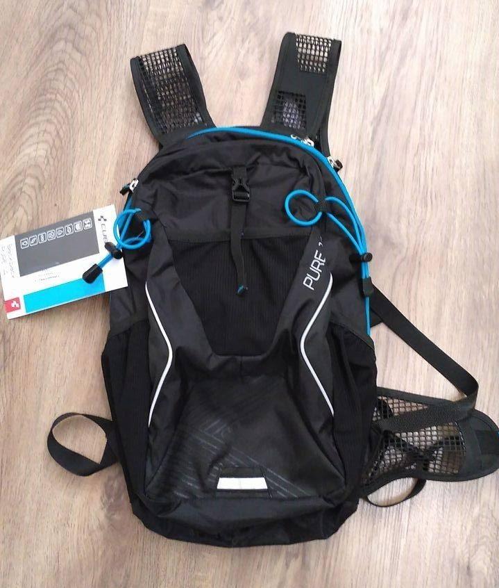 3d6a1752d31 Cyklistický batoh CUBE PURE 14 je komfrotní batoh s nádherným designem. Velikost  batohu je 14 litrů