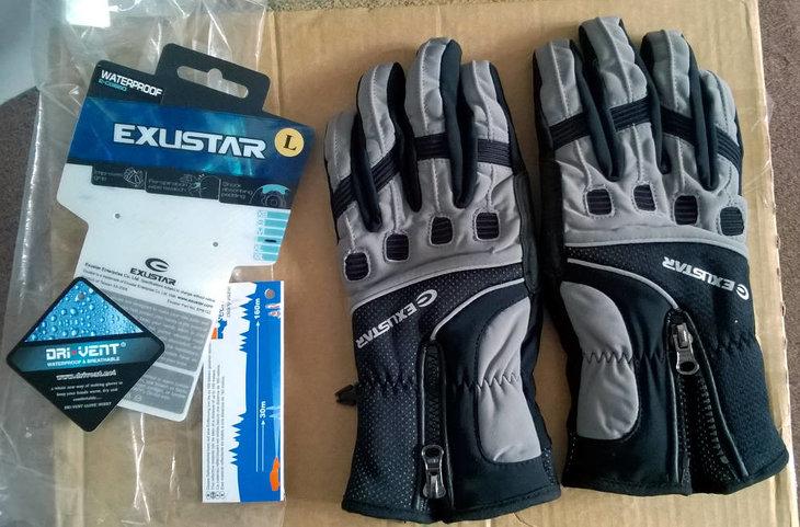 19a120b12 Nové zimní (cyklo)rukavice Exustar,. Koupil jsem velikost L a jsou mi malé.  Nikdy nepoužité. Jde o přesně tyto rukavice, velikost L: ...