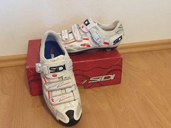 e21265b4702 Prodám cyklistické tretry Sidi vel. 44 v perfektním stavu jako nové -  ježděné pouze jednu sezónu - nikdy v dešti ani v blátě