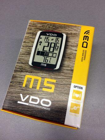 26154bd931 Z důvodu přechodu na navigaci Lezyne Super GPS (kvůli wattům) prodám  nevyužitý bezdrátový tachometr VDO M5 WL vč. hrudního pásu