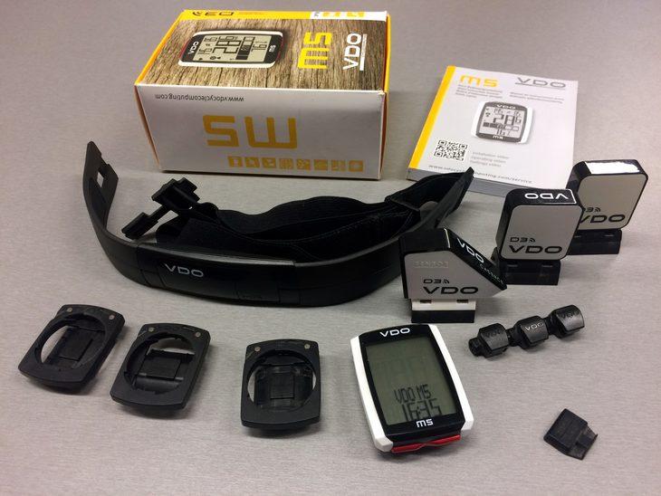 66ecca060e Prodám  bezdrátový tachometr VDO M5 WL vč. hrudního pásu