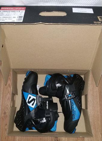 Prodám  Závodní boty SALOMON S RACE SK PRO PROLINK 17 18 skate ... e608f6b722