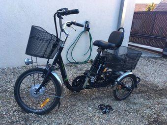 345c67f15fd Prodám elektrickou tříkolku model Spirit Shopping. Koupili jsme ji v Plzni  v obchodě beznamahy.cz Náš model už na stránkách nemají
