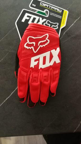 d0e2f06e6 PRODÁM Dětské rukavice Fox Dirtpaw. Velikost M (délka 16,5 cm, šířka 9 cm)